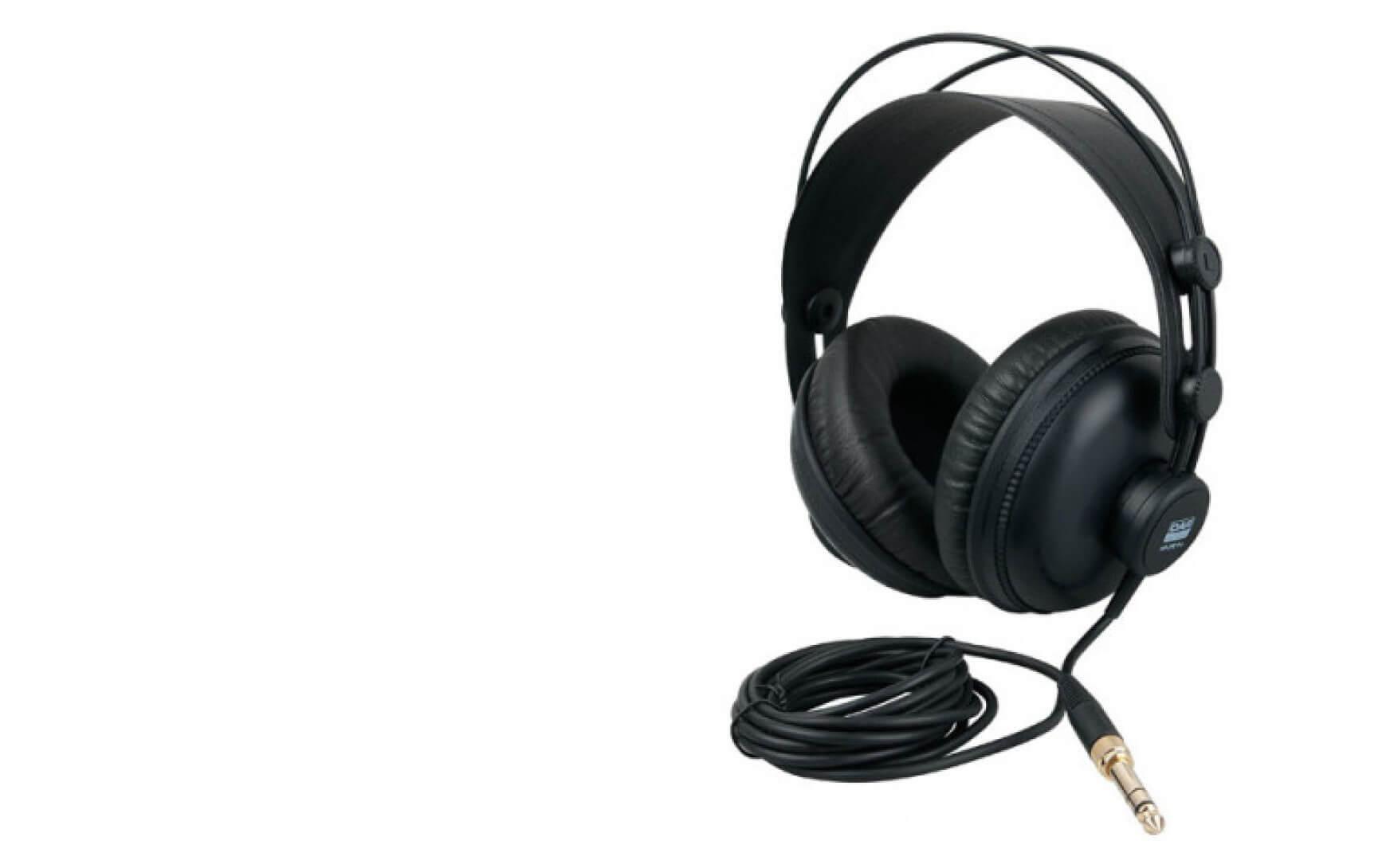 Foto van de DAP HP-290-PRO gesloten hoofdtelefoon.