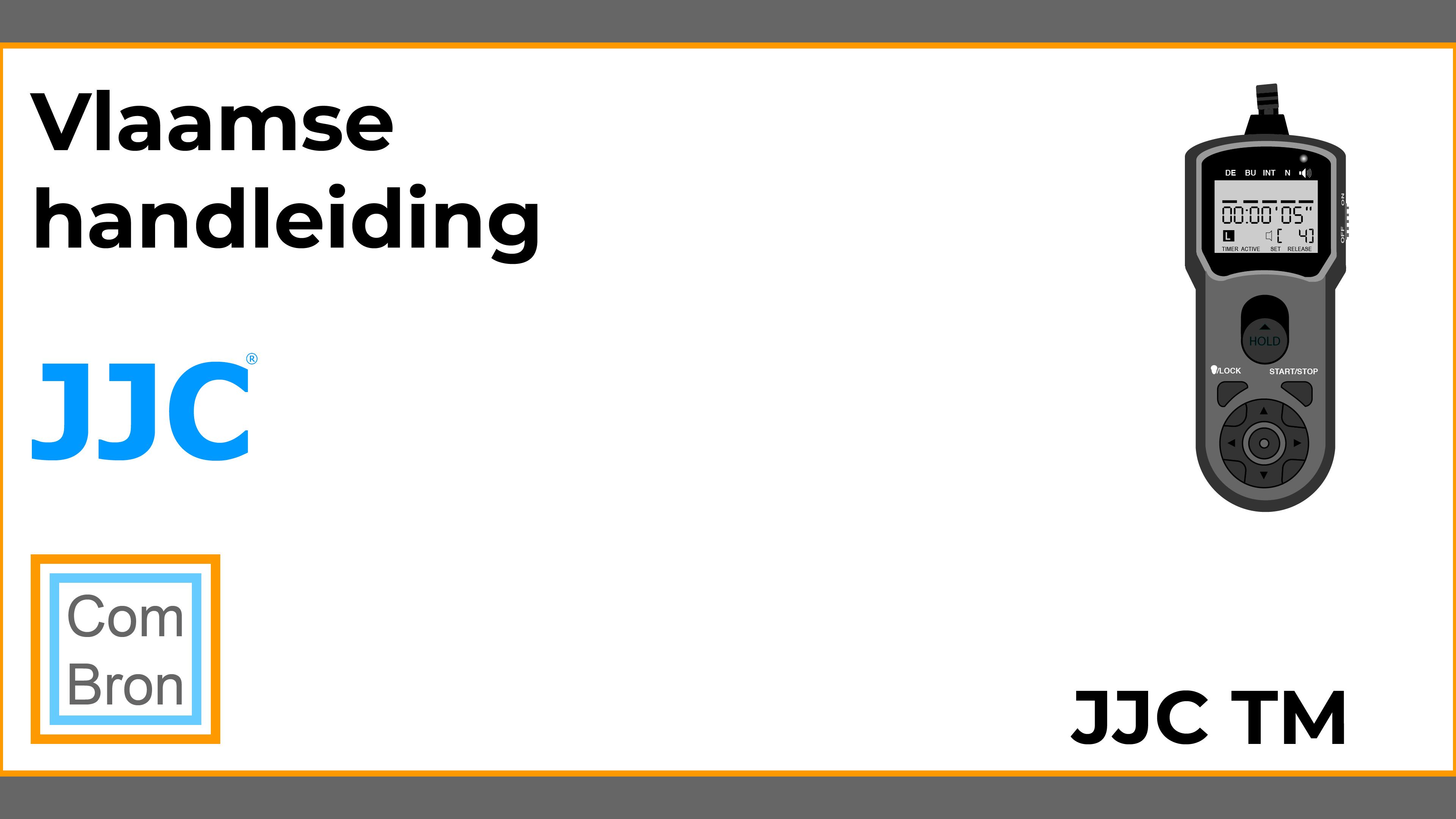 Vlaamse handleiding JJC TM.